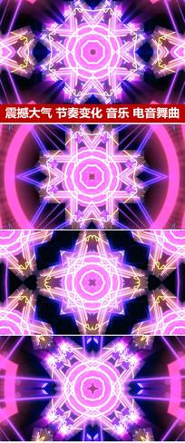 彩色空间动感节奏变化VJ视频