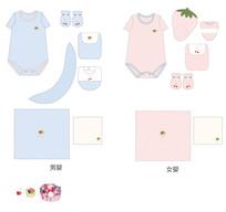 婴童服装设计稿款式图