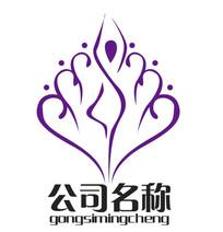 女性健身美容瑜伽logo
