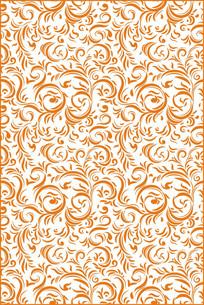 欧式韵律花纹底纹图案