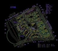 房地产总规划平面图