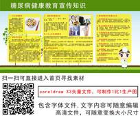 糖尿病教育宣传栏广告喷绘