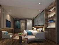 宾馆房间模型