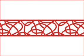 抽象线条移门图案
