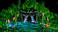 梦幻浪漫森林童话LED视频