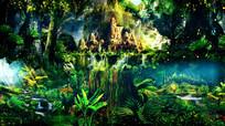 梦幻童话森林场景LED视频