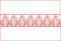 欧式镂空花边纹移门图案