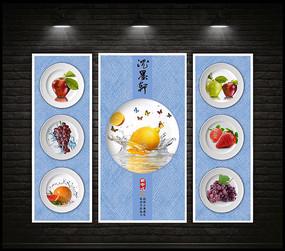 中式餐厅装饰画