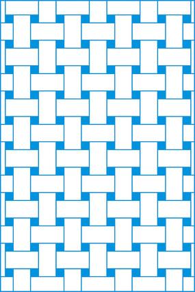 栅栏矢量图