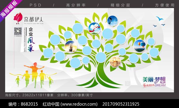 企业文化照片墙图片