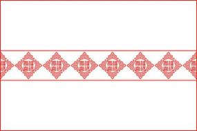 福禄寿喜花纹雕刻图案