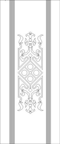 歐式花紋雕刻圖案