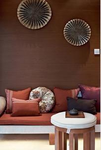 简约客厅背景墙装饰