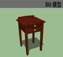 红木简约小桌子