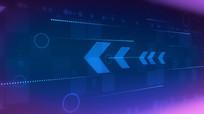 蓝色通用科技感循环视频