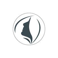 简洁风美妆logo