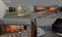 李宁活动周方案-3D模型