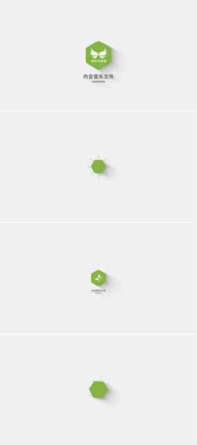 简洁企业标志宣传展示模板