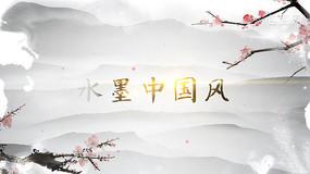 水墨画logo