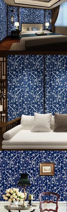 中式傳統花紋背景圖案