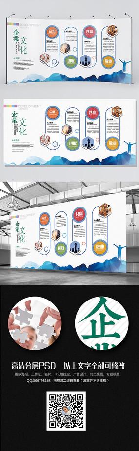 教育机构背景墙