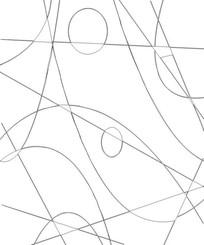 线条图雕刻图案