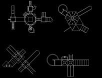 儿童器械CAD图块