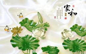 中式水墨画贴图