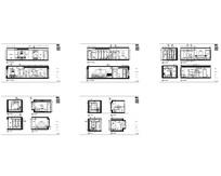 客厅及房间立面图