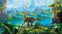 森林恐龙梦幻山脉