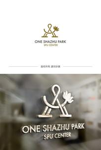 A字母企业logo设计