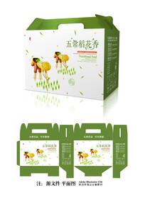 大米箱子包装设计