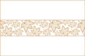 枫叶移门图案