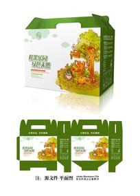 绿色水果包装设计