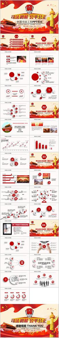 中国司法机关法律工作PPT