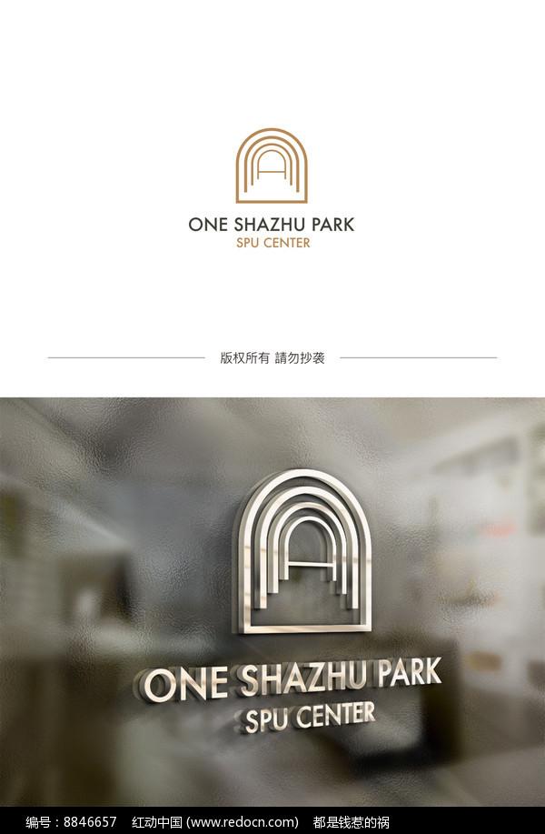 A字母地产logo设计图片