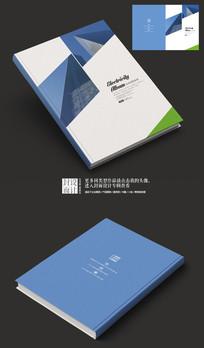 蓝色时尚产品宣传画册封面