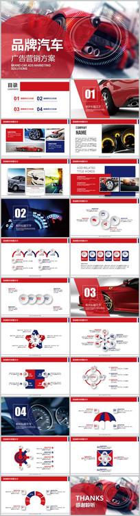 品牌汽车宣传营销方案PPT