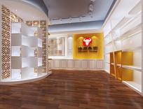 公司产品展厅模型