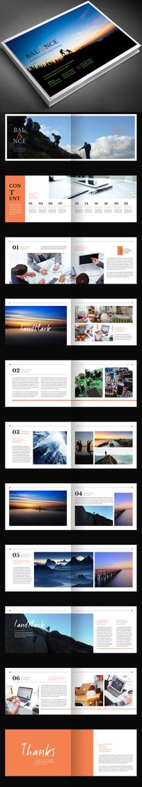 摄影作品集毕业设计画册