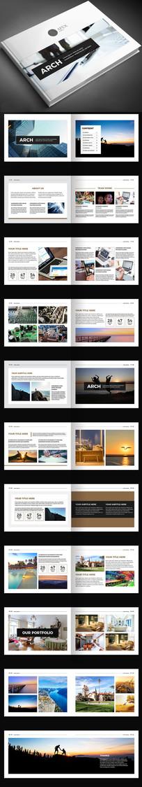 作品集毕业设计摄影宣传册