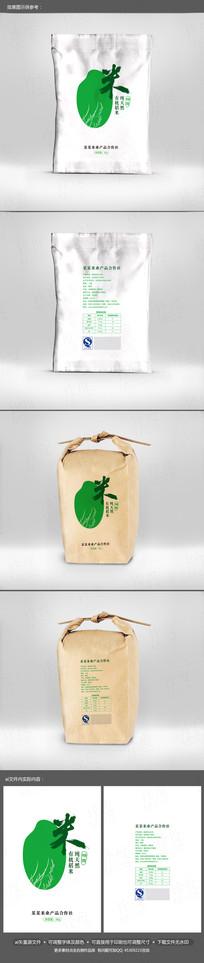 创意时尚日式大米包装设计