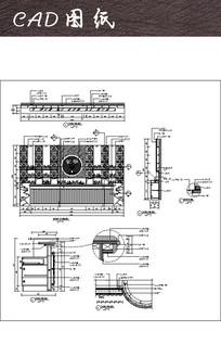 酒吧吧台CAD图纸
