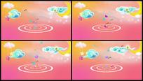 儿童卡通LED视频背景视频