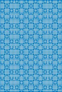 几何回纹窗格雕刻图案