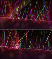 酒吧舞厅夜店光线舞台视频