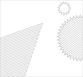 抽象深雕向日葵雕刻图案