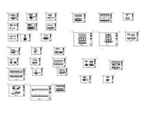 火锅城施工图立面图