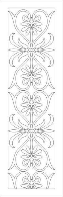 鏤空歐式花紋雕刻圖案