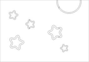 星耀之光雕刻图案